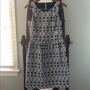 Brooks Brothers Patterned Dress Broken Zipper